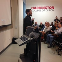 Photo taken at Harrington College of Design by Filter P. on 9/25/2014