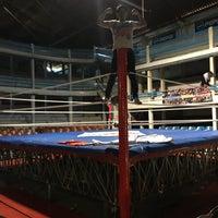 Photo taken at Arena San Juan by Fer M. on 10/29/2016
