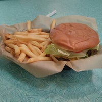 Photo taken at Hwy 55 Burgers, Shakes, & Fries by Christian A. on 6/5/2013