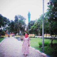 Photo taken at Alun-Alun Lumajang by Aryanti F. on 1/19/2017