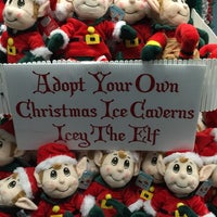 Photo taken at Christmas Ice Caverns by BECKY C. on 11/28/2014