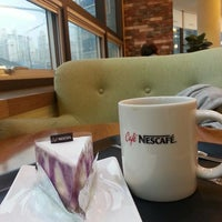 Photo taken at Cafe NESCAFE by MOMO🍑 on 10/8/2013