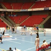 Photo taken at Halmstad Arena by Jörgen H. on 3/2/2013