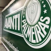 Photo taken at Sociedade Esportiva Palmeiras by Paulo Ricardo T. on 4/6/2013