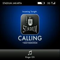 Photo taken at Stadium Jakarta by Bayu P. on 7/17/2013