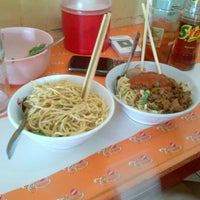 Photo taken at Mie Ayam Baso Bang Adi Kutoarjo by Bayu P. on 3/30/2013