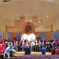 Photo taken at Washington Hebrew Congregation by rukmini diane maria b. on 11/19/2013
