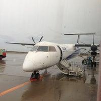 Photo taken at Niigata Airport (KIJ) by Tsuyoshi I. on 11/26/2012