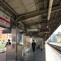 Photo taken at Esaka Station (M11) by Tsuyoshi I. on 6/29/2013