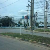 Photo taken at Rojana Industrial Park 2 by Tsuyoshi I. on 7/23/2013