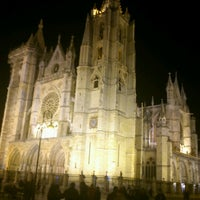 Photo taken at León Cathedral by Amparo C. on 11/24/2012