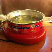Photo taken at Hot Pot Inter Buffet by Augusta C. on 11/25/2012