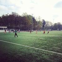 Photo taken at Christelijke voetbalvereniging Achilles by Joost A. on 4/12/2014