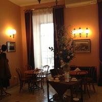 Снимок сделан в Віденська кав'ярня / Vienna Cafe пользователем Marina P. 1/25/2013