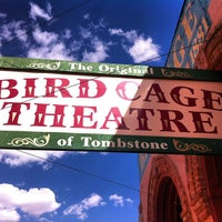 Photo taken at The Original Bird Cage Theatre Of Tombstone by Meg on 5/16/2013