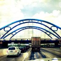 Photo taken at Gateway Bridge by Stephe L. on 5/9/2013