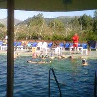 Photo taken at Terme Stufe di Nerone by Vittorio C. on 12/30/2012