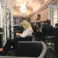 Photo taken at Rush Salon Strand by Soly k. on 9/13/2017
