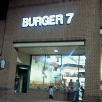 Photo taken at Burger 7 by Salwa k. on 10/25/2012