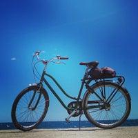 Photo taken at Green Bikes Barcelona Rentals & Tours by Vit M. on 5/24/2013