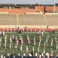 Photo taken at Buddy Echols Field by Brenda N. on 9/26/2014