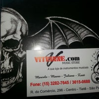 Photo taken at vitrinne.com music store by Veronica A. on 3/12/2014