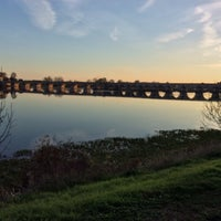 Photo taken at Pont de Beaugency by Dan R. on 11/12/2015