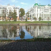 Photo taken at Парк «Чёрное озеро» by Валерия Б. on 9/29/2012