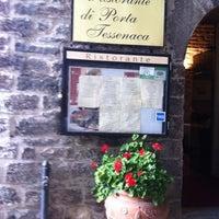 Photo taken at Ristorante Di Porta Tessenaca by Francois D. on 9/11/2013