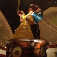 Photo taken at Be Our Guest Restaurant by Paulo T. on 5/5/2013