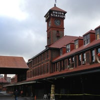 Photo taken at Union Station Amtrak (PDX) by Paulo T. on 1/11/2013