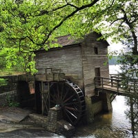 Photo taken at Grist Mill / Stone Mountain Park by Paulo T. on 4/20/2015