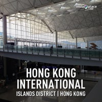 Photo taken at Hong Kong International Airport (HKG) by Mauree S. on 7/3/2013