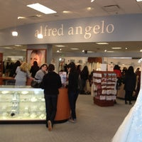 Photo taken at Alfred Angelo Bridal by Jade R. on 2/9/2013
