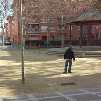 Photo taken at Plaça de les Arts by Sergio S. on 12/30/2013