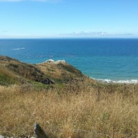 Photo taken at Cap de Carteret by Erik R. on 7/31/2013