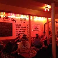 Photo taken at Great Jones Cafe by Josh B. on 9/15/2012
