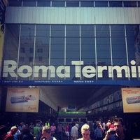 Photo taken at Roma Termini Railway Station (XRJ) by Giga S. on 7/6/2013