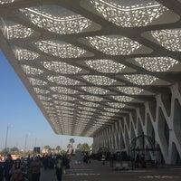 Photo taken at Marrakech Menara Airport (RAK) by Giga S. on 4/11/2013
