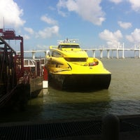 Photo taken at Macau Maritime Ferry Terminal by Xavier J. on 5/28/2013