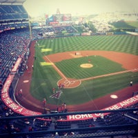Photo taken at Angel Stadium of Anaheim by Sarah A. on 5/31/2013