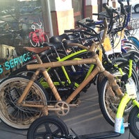 Photo taken at Holland's Bicycles by Angela D. on 2/16/2014