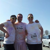 Photo taken at Color Me Rad 2013 by Mark N. on 3/30/2013