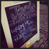 Photo taken at Jack's Sliders and Sushi by Anthony T. on 9/18/2013