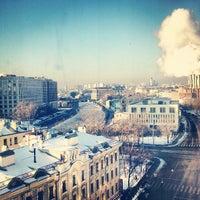 Photo taken at МГУДТ (Московский государственный университет дизайна и технологий) by Anastasia O. on 12/15/2012