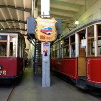 Снимок сделан в Музей городского электрического транспорта пользователем Tatiana C. 7/26/2014