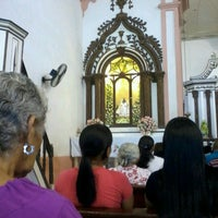 Photo taken at Igreja Madre de Deus by Tiago P. on 10/21/2012