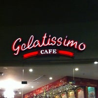 Photo taken at Gelatissimo Cafe by Marlon C. on 11/18/2012