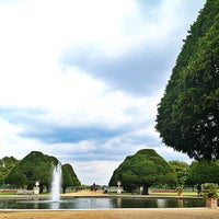 Photo taken at Hampton Court Palace Gardens by Sand E. on 9/10/2013