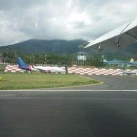 Photo taken at Sultan Babullah Airport (TTE) by Reinita A. on 4/8/2017